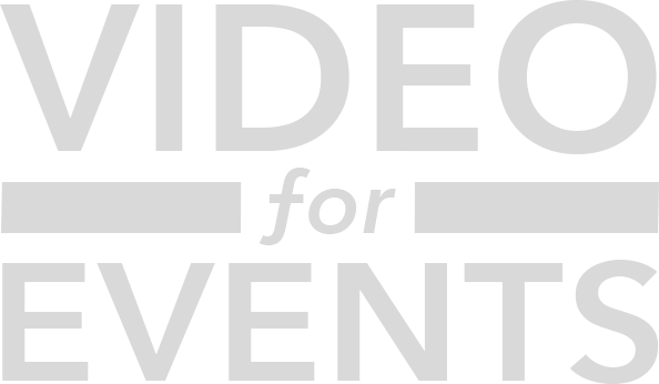 Video for Events